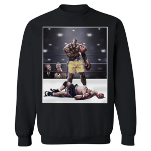 Shaquille O'neal And Chuck Knockout Sweatshirt