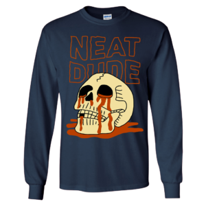 Skull Neat Dude Long Sleeve Shirt