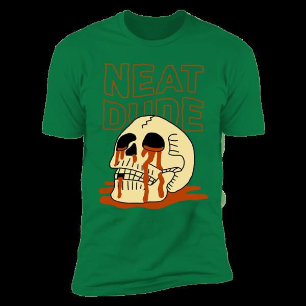 Skull Neat Dude Premium SS T-Shirt